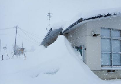 吉島の冬の様子