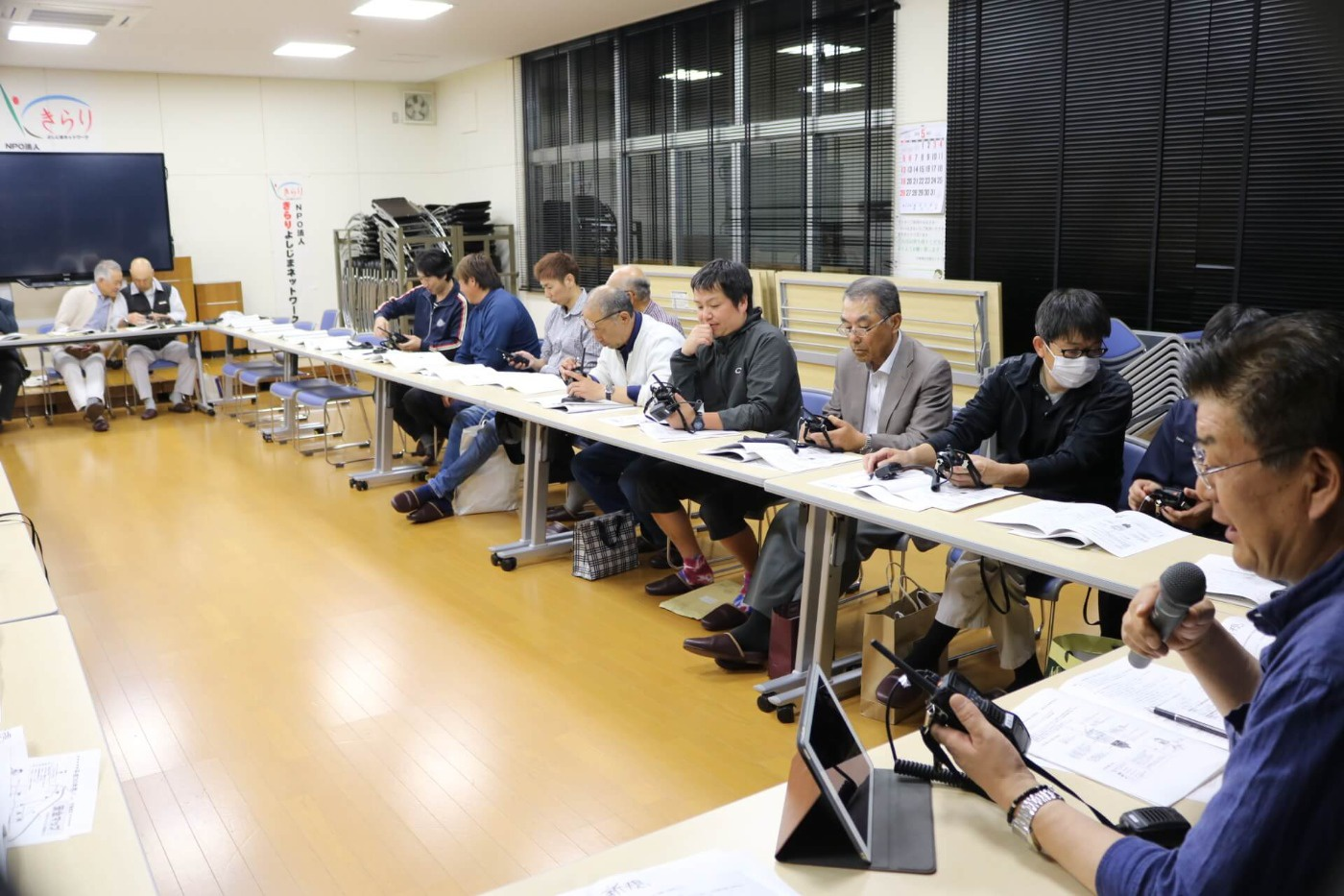 吉島地区要望請願等委員会議の様子