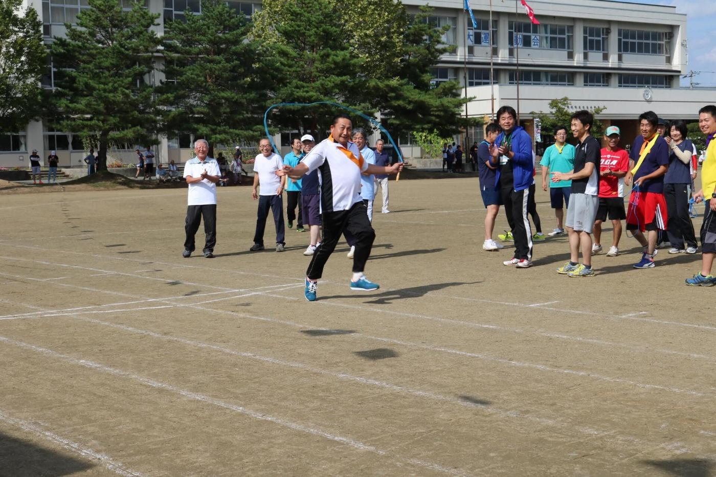 第16回吉島地区ふれあい大運動会:競技の様子