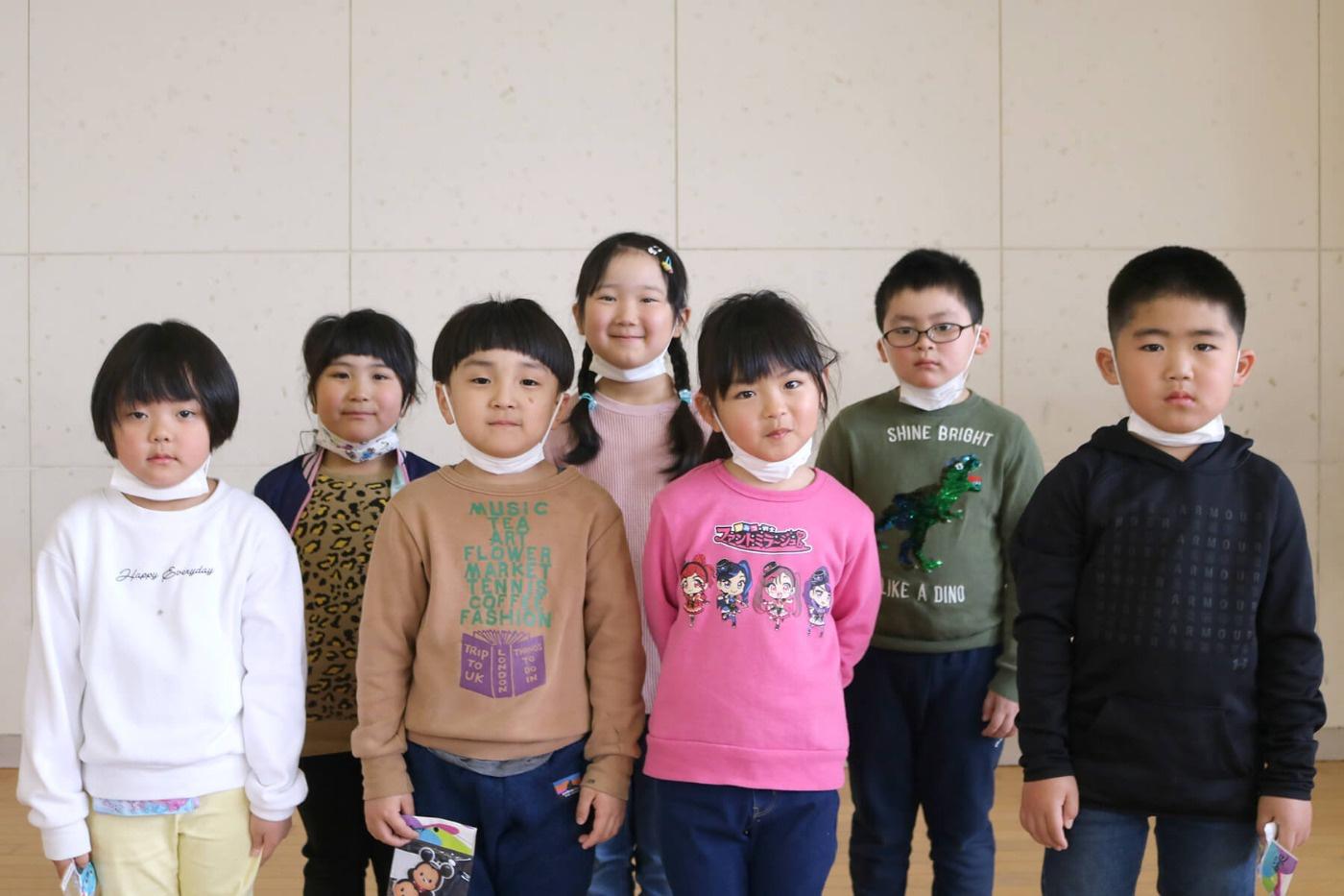 児童クラブきらり:児童の集合写真