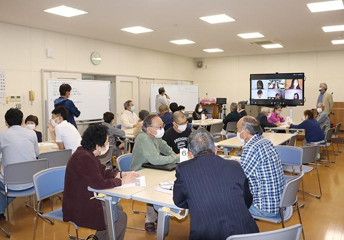 写真:各種団体・理事・事務局スキルアップ研修会の様子