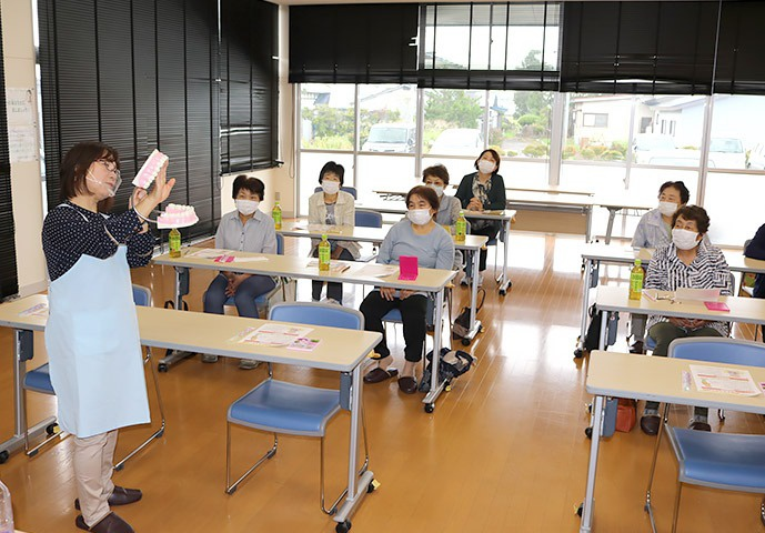写真:介護予防普及啓発事業公開講座の様子