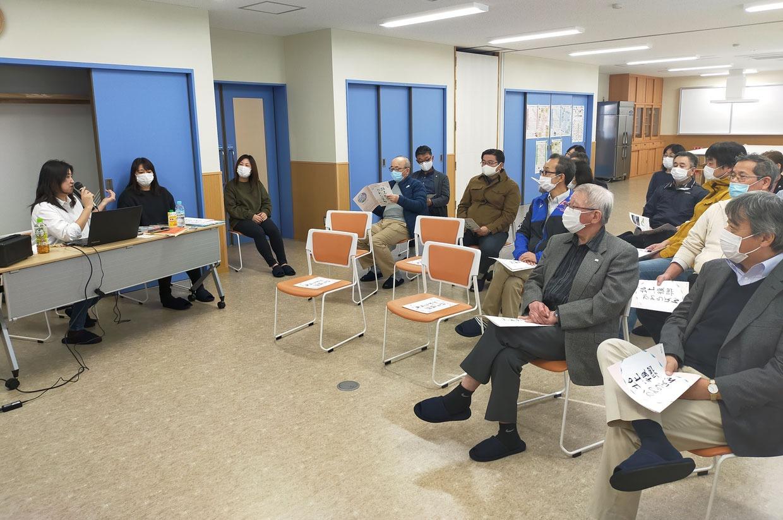 写真:各種団体視察研修会の様子