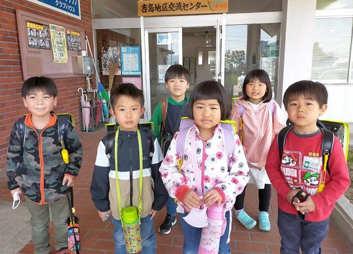 写真:「児童クラブきらり」を利用する子どもたち