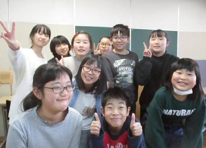 写真:児童クラブきらりを卒業した子どもたち