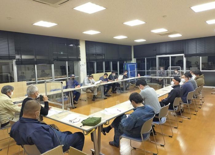 写真:専門部・きらり役員・事務局合同会議の様子