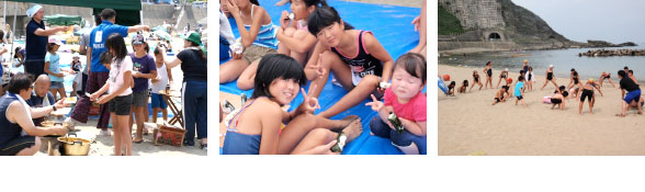 海水浴とヨット体験で夏の海を満喫!わんぱくキッズ移動学習会